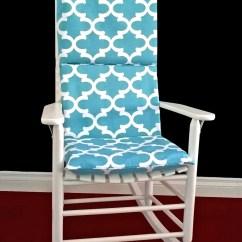 Rocking Chair Cushion Covers Space Saver High Cover Fynn Spirit Blue Ready To Ship