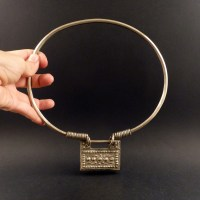 Hill tribe neck ring necklace from the golden triangle Spirit