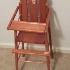 American Girl Doll High Chair Heavy Duty Lawn Vintage Atf Toys Wooden