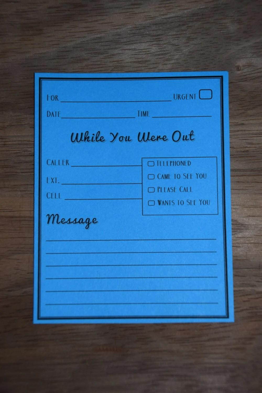Telephone Message Pad Download Form 1040 - strongdownloados
