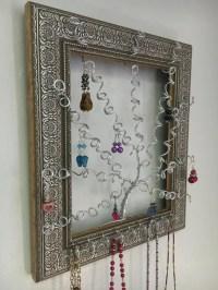 Jewelry Tree Jewelry Organizer MADE TO ORDER Ornate Silver