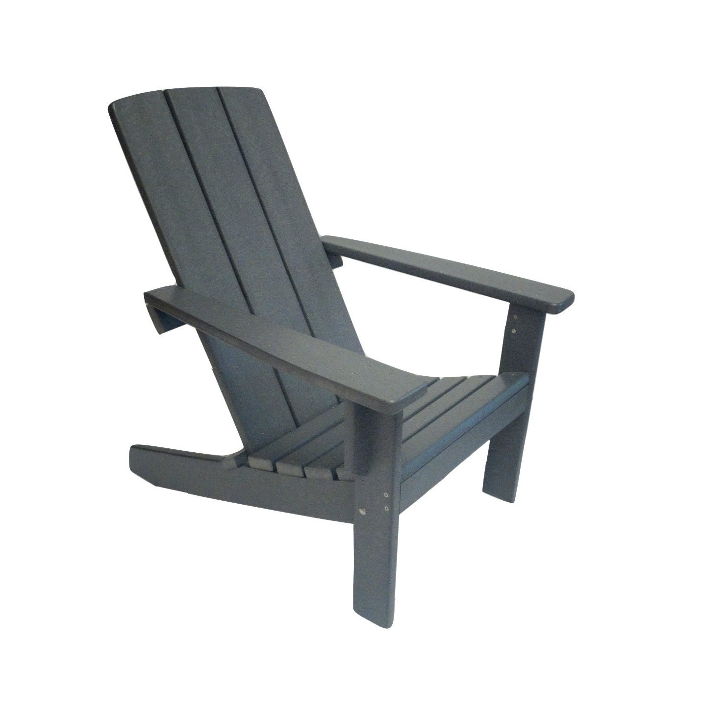 modern adirondack chair folding outdoor chairs big w style made from poly wood