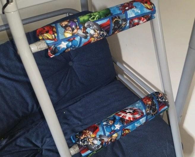 Marvel Avengers Rungeeze Padded Bunk Bed Ladder Rung