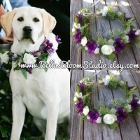Dog Of Honor Dog wedding collar Pet Wedding by