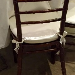 Used Chair Covers Wedding For Sale Zero Gravity Xl Chiavari Cushion Set Of 10 Or More Cover