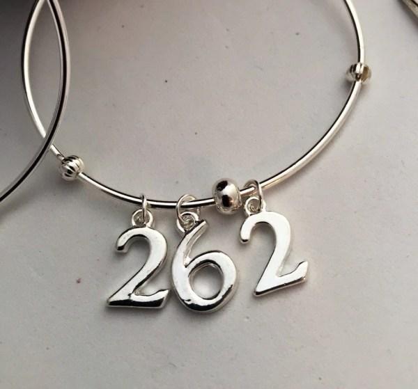 Runner Charm Bracelet Running Jewelry Marathon