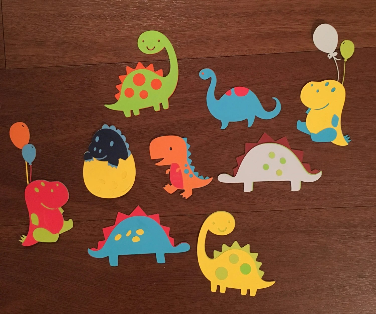 Dinosaur Cut Outs By Cottencandyparty On Etsy