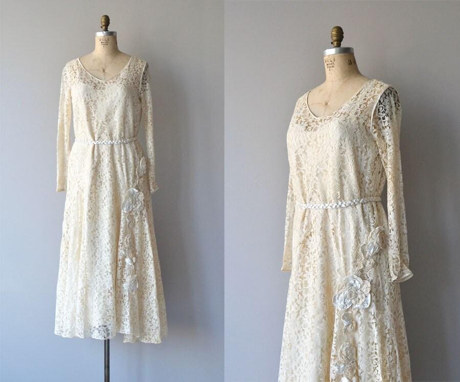 Amata Bene Dress Lace 1920s Wedding Dress Vintage 1920s