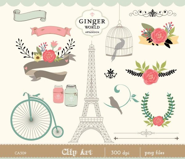 romantic and vintage graphics