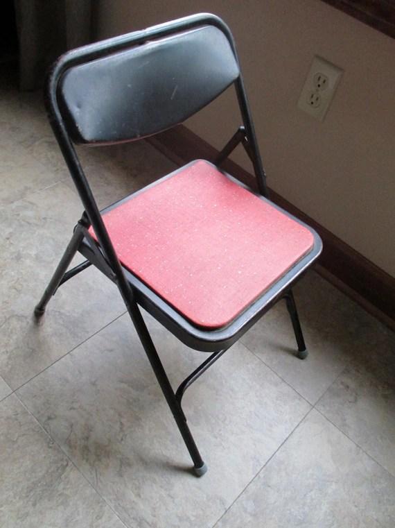 Stupendous Vintage Metal Folding Chair Facingwalls Cjindustries Chair Design For Home Cjindustriesco