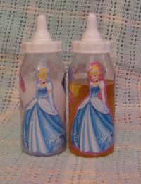 Reborn preemie baby Cinderella bottles 3oz Faux Fake formula