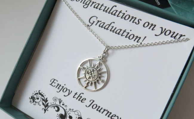 Graduation Gift For Her Sterling Silver High School