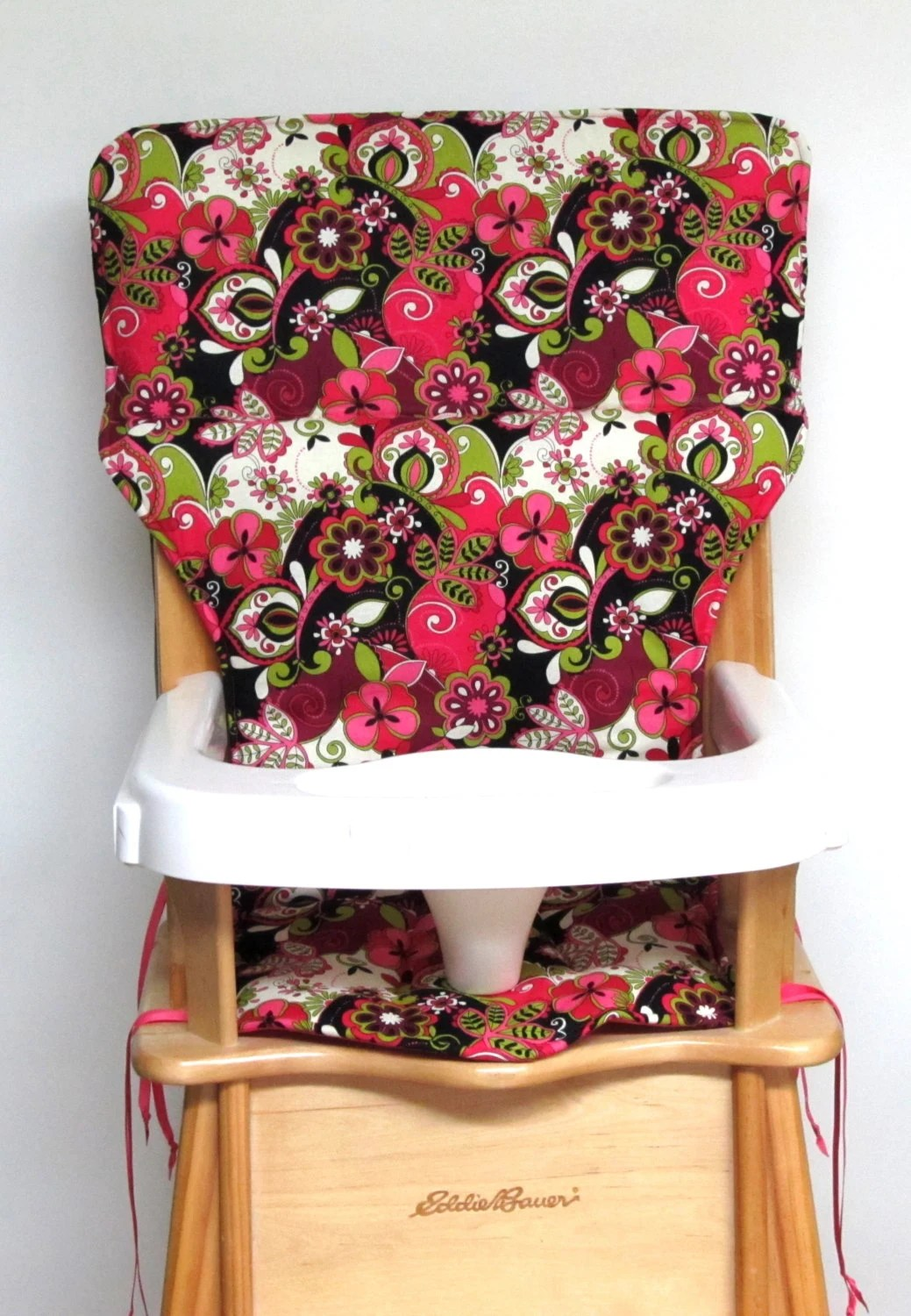 High Chair Pads Eddie Bauer Wooden High Chair Pad Baby Accessory Feeding