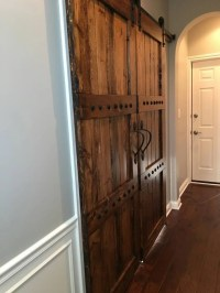 Interior Double Barn Door Package Double Doors by WoodenNail