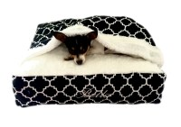 Custom Cat/Small Dog Bed Cover Built in by CatAndCanineCouture