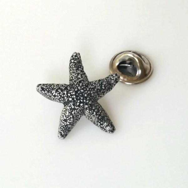 Vintage Pin Starfish Pin Starfish Lapel Pin Starfish Tie