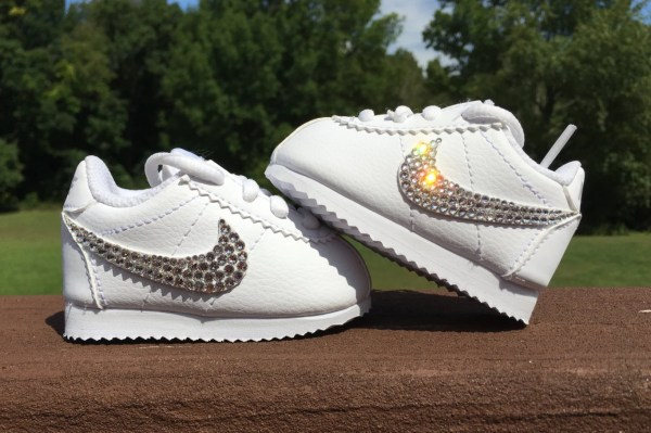 In Nike Cortez Bling Shoes Infant Toddlers Little