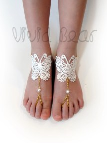 Chain Barefoot Sandals Foot