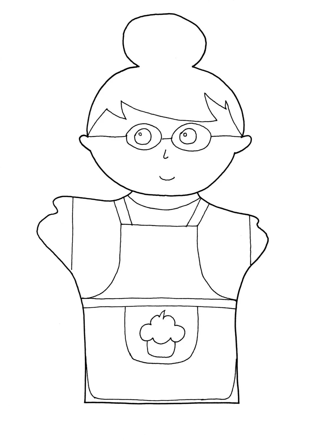 Grandmother coloring page grandmother gift gift by