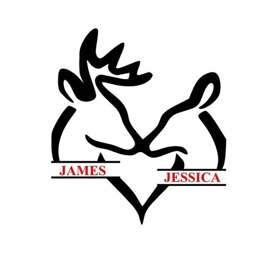 Download split browning deers in love SVG studio files by ...