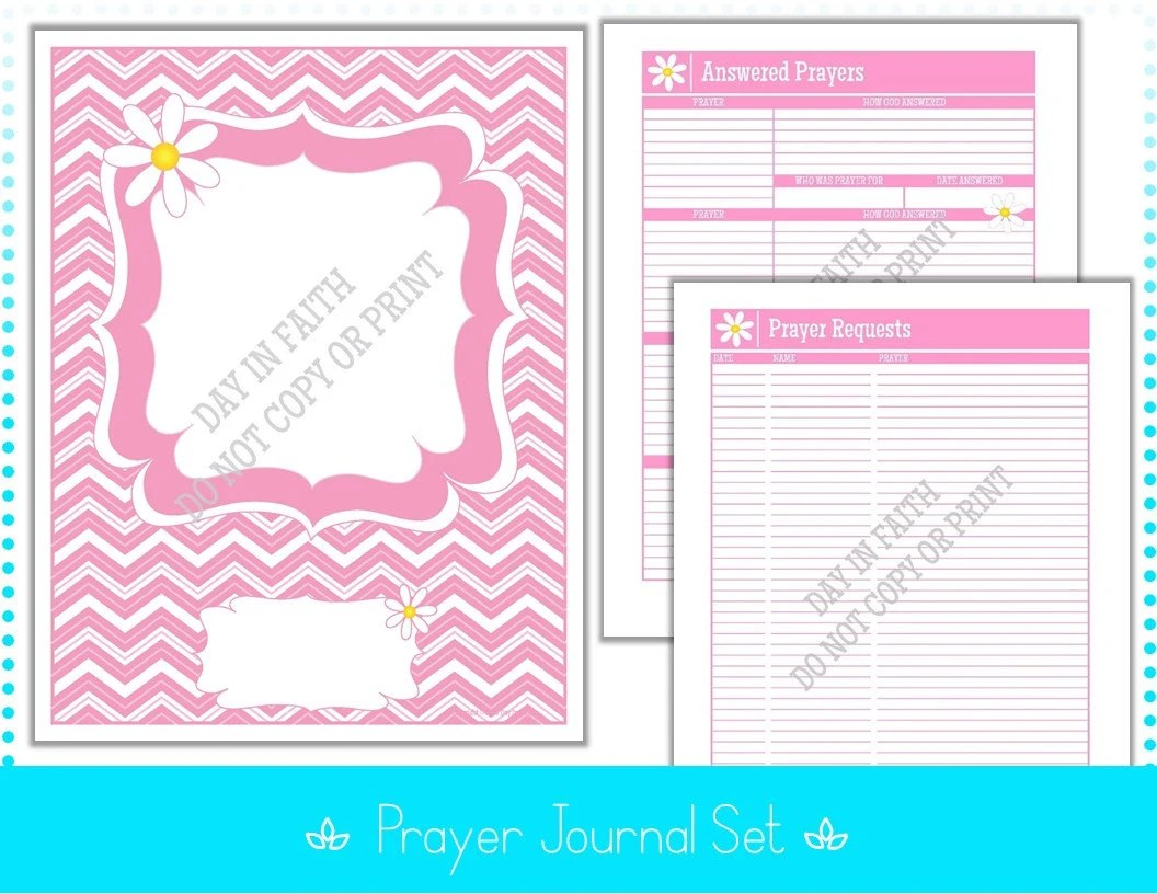 Prayer Journal A C T S F A C T S C H A T Answered Prayers