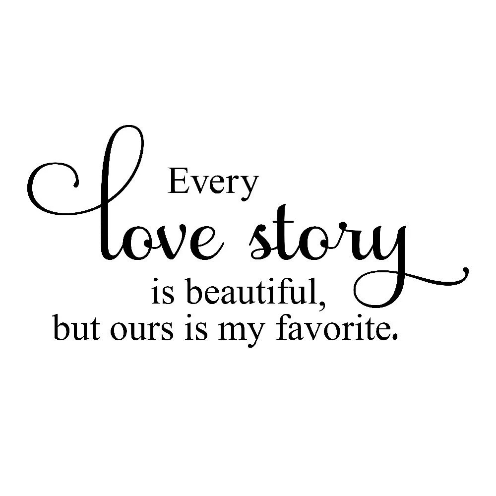 Every Love Story Is Beautiful But Ours Is My by MiCowDecals