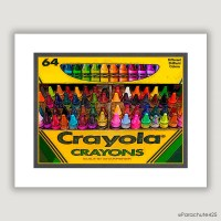 Unique Wall Art Crayola Crayons unique home decor by ...