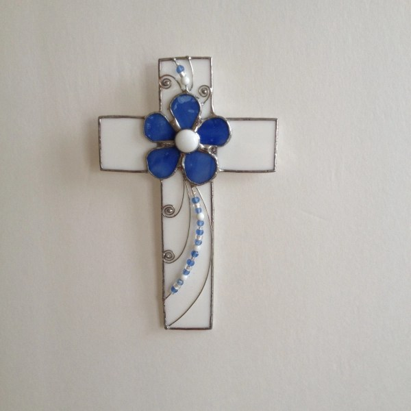 Stained Glass Wall Cross
