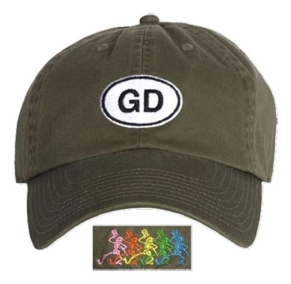 Grateful Dead Gd Dancing Skeletons Hat