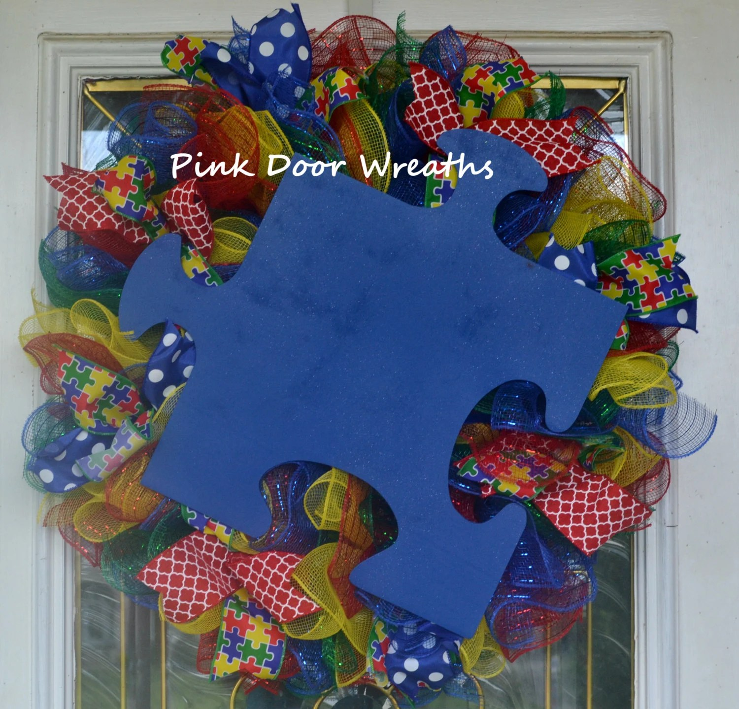 Mesh Wreaths Burlap Wreaths Derby Hats Door By PinkDoorWreaths