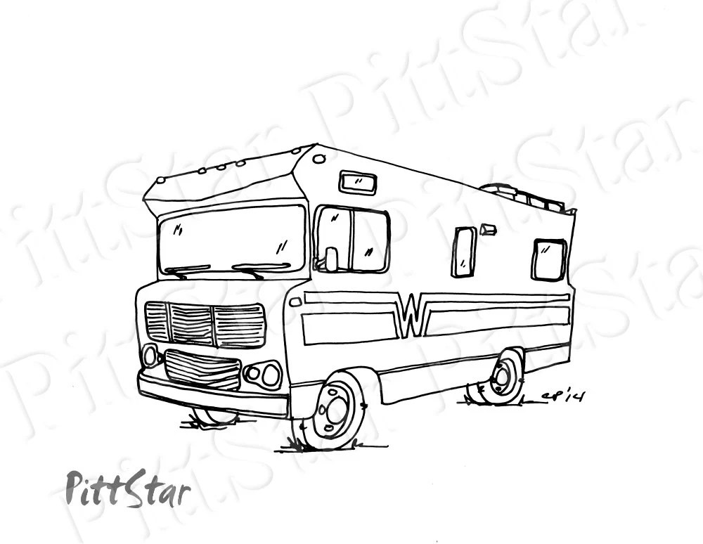 Instant Download Happy Glamper Winnebago Motorhome
