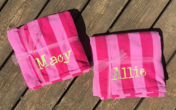 Personalized Beach Towels Monogrammed Towel
