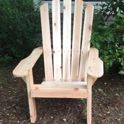 Unfinished Adirondack Chair 6 Person Table And Set Cedar Or Pine By Repurposedbyrob
