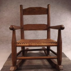 Antique Child Rocking Chair Dining Chairs Value Rocker Small