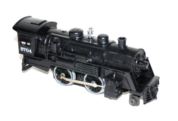 Vintage 1980' Lionel Steam Engine 8704 -gauge Dc