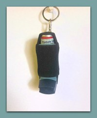 Items similar to Inhaler holder - Classic Black on Etsy