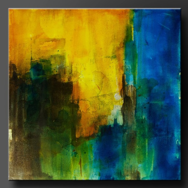 Threshold 24 X Abstract Acrylic Painting Contemporary