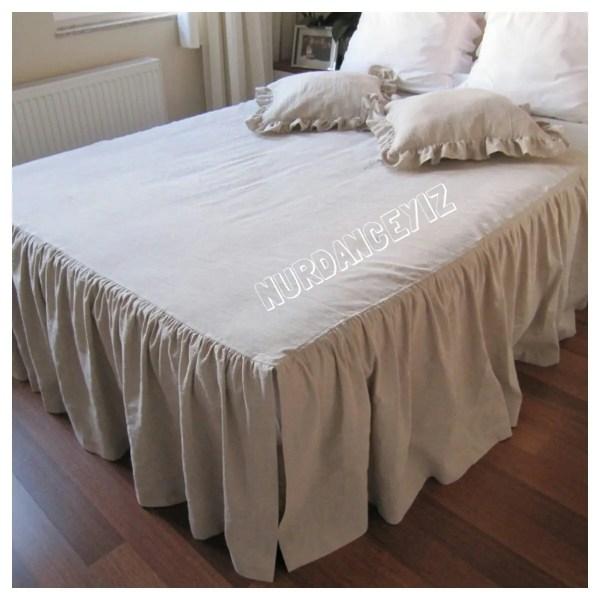 Full Queen Bedspread Dust Ruffle 18 19 20 21 22 23 27