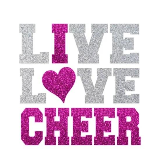 Download Live Love Cheer Svg