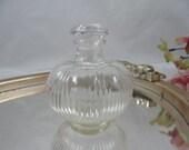 1930s Vintage Round Glass...