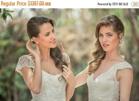Christmas In July Sale Romantic Vintage Lace By