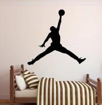 Michael Jordan Wall Decal Jumpman Decal Basketball Wall
