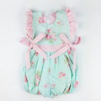 Items similar to Vintage Baby Romper, Girl Vintage Outfit