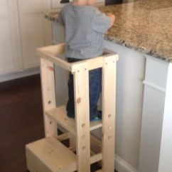 Ikea Childrens Chair 2 Lazy Boy Office Replacement Parts Child Kitchen Helper Step Stool By Teddygramstottowers On Etsy