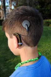 Cochlear Implant Necklace Tether