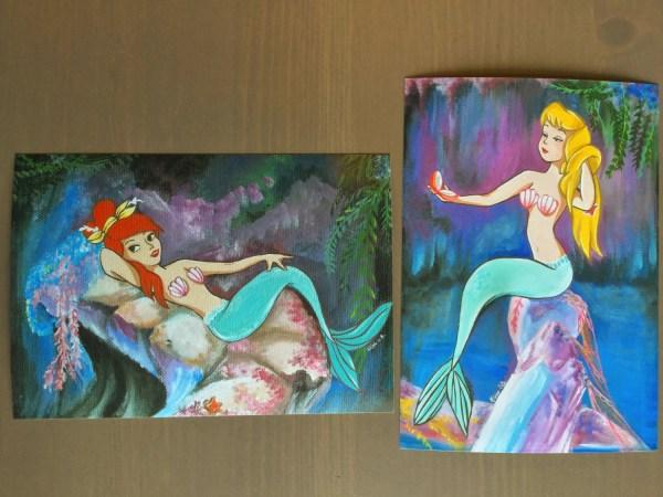 Neverland Mermaids Prints