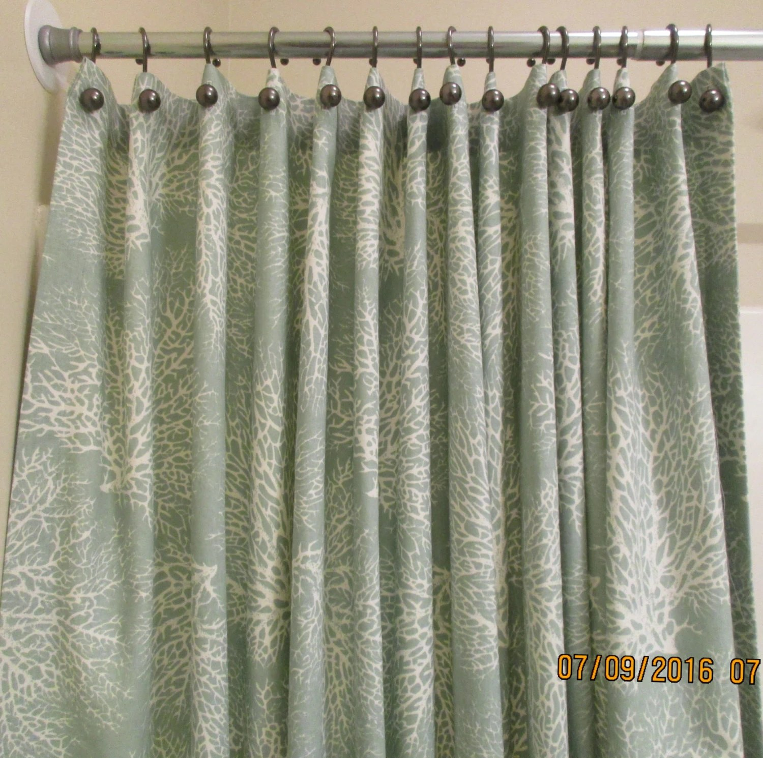 Shower Curtain  Extra wide Extra Long Reg lengths also