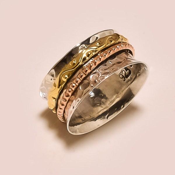 Three Tone Spinning Ring Meditation Statement