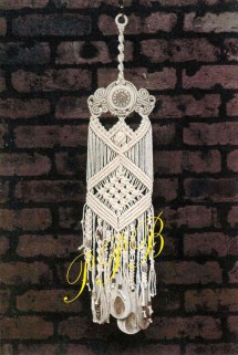 Macrame Wind Chimes With