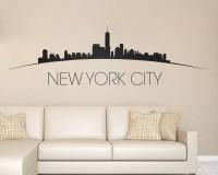 new york skyline wall decal - DriverLayer Search Engine